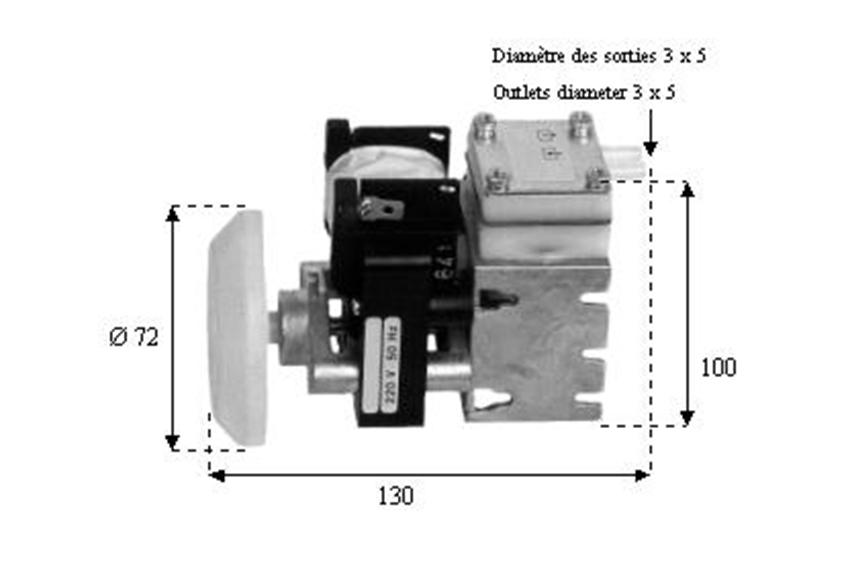 Pompe à membrane HX1-8900